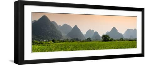 China 10MKm2 Collection - Karst Moutains in Yangshuo-Philippe Hugonnard-Framed Art Print