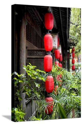 China 10MKm2 Collection - Chinese Lanterns-Philippe Hugonnard-Stretched Canvas Print