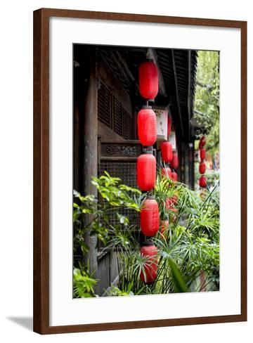 China 10MKm2 Collection - Chinese Lanterns-Philippe Hugonnard-Framed Art Print