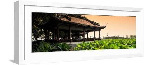 China 10MKm2 Collection - Lotus Garden-Philippe Hugonnard-Framed Art Print