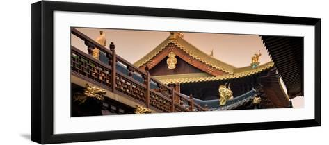 China 10MKm2 Collection - Jing An Temple - Shanghai-Philippe Hugonnard-Framed Art Print