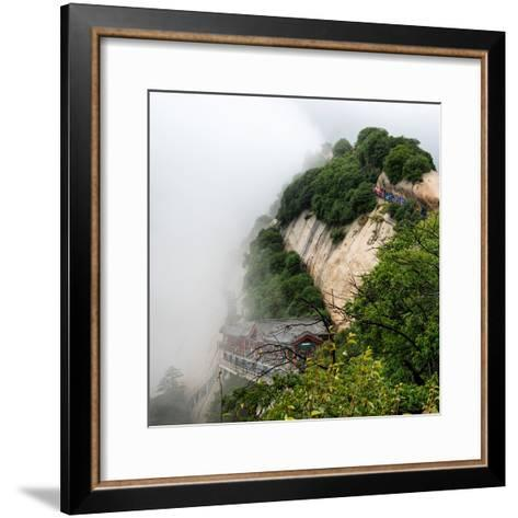 China 10MKm2 Collection - Mount Huashan - Shaanxi-Philippe Hugonnard-Framed Art Print