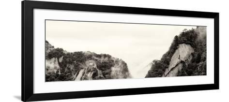 China 10MKm2 Collection - Mount Huashan - Shaanxi-Philippe Hugonnard-Framed Art Print