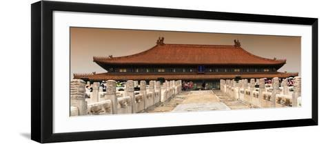 China 10MKm2 Collection - Stairs Forbidden City - Beijing-Philippe Hugonnard-Framed Art Print