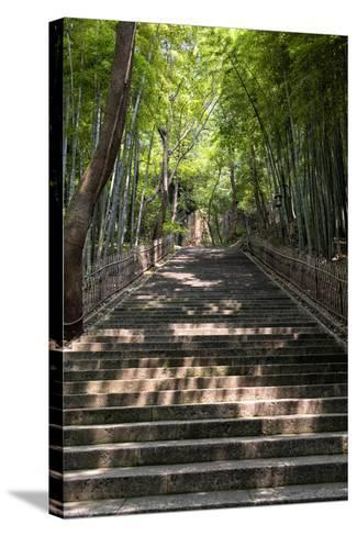 China 10MKm2 Collection - Staircase-Philippe Hugonnard-Stretched Canvas Print