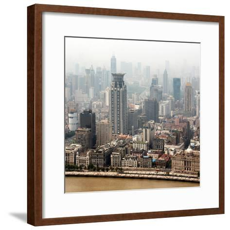 China 10MKm2 Collection - Shanghai-Philippe Hugonnard-Framed Art Print