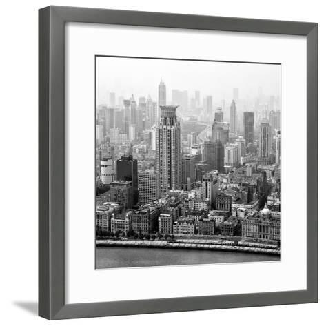 China 10MKm2 Collection - Shanghai-Philippe Hugonnard-Framed Art Print