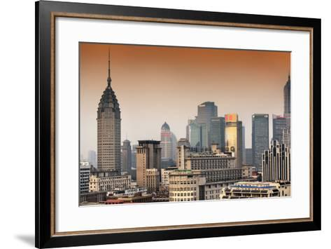 China 10MKm2 Collection - Shanghai Cityscape-Philippe Hugonnard-Framed Art Print