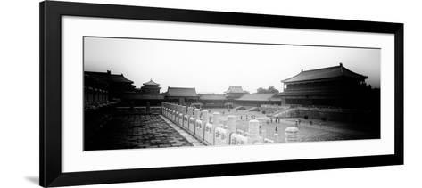 China 10MKm2 Collection - Palace Area of the Forbidden City - Beijing-Philippe Hugonnard-Framed Art Print