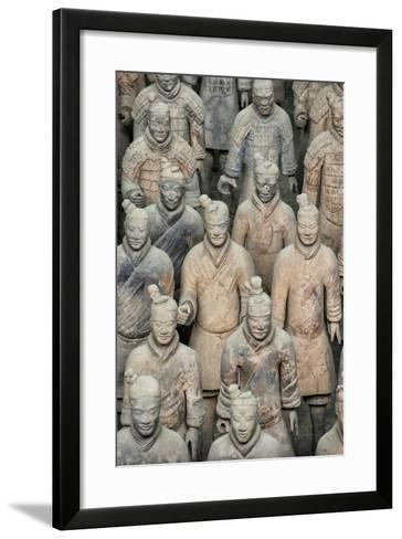 China 10MKm2 Collection - Terracotta Army-Philippe Hugonnard-Framed Art Print