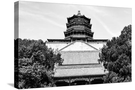 China 10MKm2 Collection - Pavilion of Buddhist - Summer Palace-Philippe Hugonnard-Stretched Canvas Print
