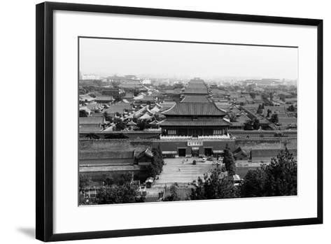 China 10MKm2 Collection - Forbidden City-Philippe Hugonnard-Framed Art Print