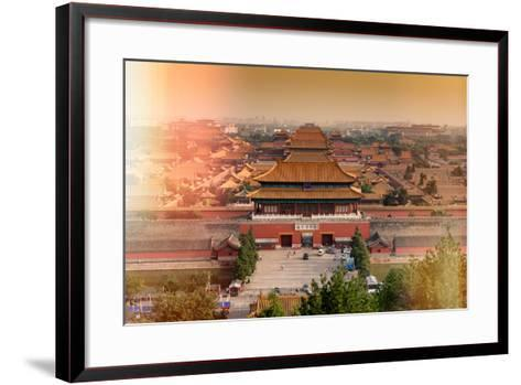 China 10MKm2 Collection - Instants Of Series - Forbidden City-Philippe Hugonnard-Framed Art Print