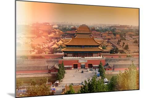 China 10MKm2 Collection - Instants Of Series - Forbidden City-Philippe Hugonnard-Mounted Photographic Print