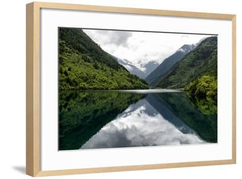 China 10MKm2 Collection - Rhinoceros Lake - Jiuzhaigou National Park-Philippe Hugonnard-Framed Art Print