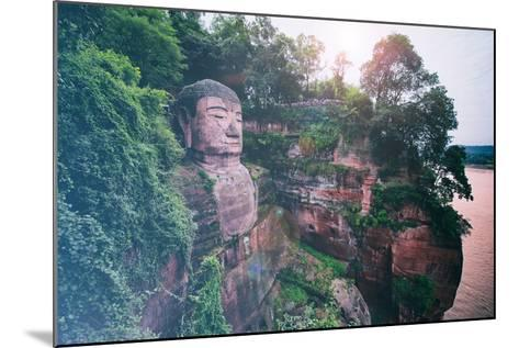 China 10MKm2 Collection - Instants Of Series - Giant Buddha of Leshan-Philippe Hugonnard-Mounted Photographic Print