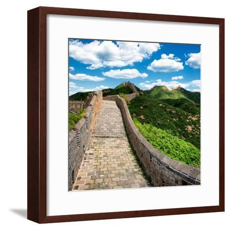 China 10MKm2 Collection - Great Wall of China-Philippe Hugonnard-Framed Art Print