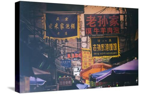 China 10MKm2 Collection - Street Signs-Philippe Hugonnard-Stretched Canvas Print