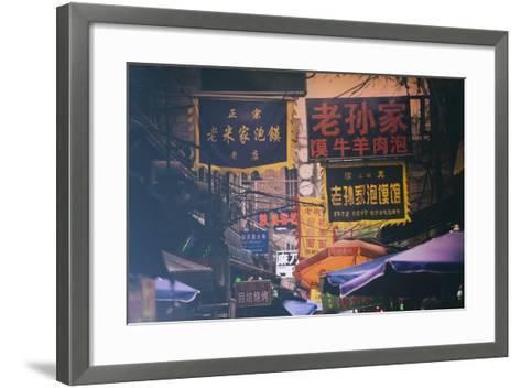 China 10MKm2 Collection - Street Signs-Philippe Hugonnard-Framed Art Print