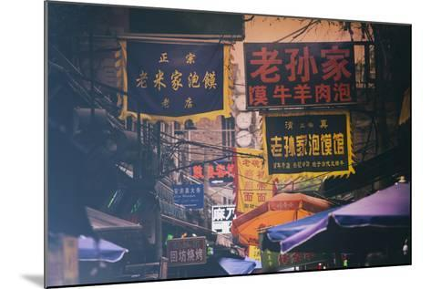 China 10MKm2 Collection - Street Signs-Philippe Hugonnard-Mounted Photographic Print