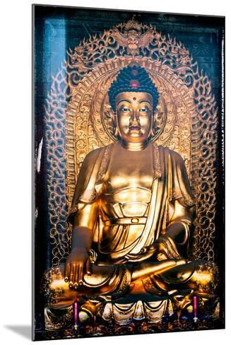 China 10MKm2 Collection - Instants Of Series - Gold Buddha-Philippe Hugonnard-Mounted Photographic Print