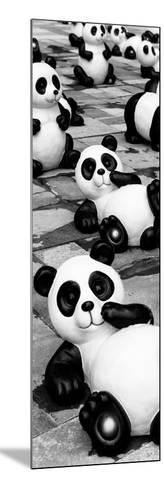 China 10MKm2 Collection - Psychedelic Pandas-Philippe Hugonnard-Mounted Photographic Print