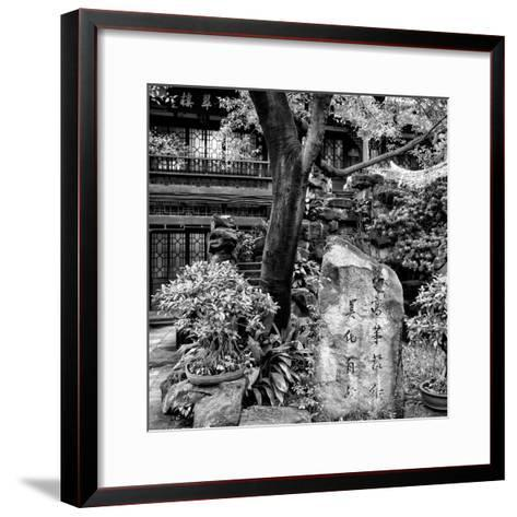 China 10MKm2 Collection - Chinese Garden-Philippe Hugonnard-Framed Art Print