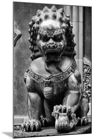 China 10MKm2 Collection - Lion Statue - Forbidden City-Philippe Hugonnard-Mounted Photographic Print