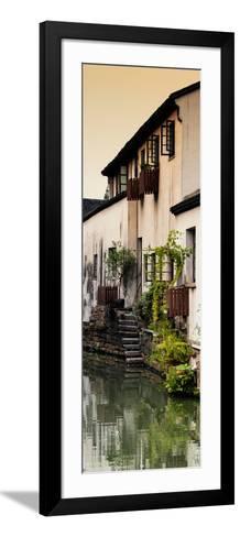 China 10MKm2 Collection - Shantang water Town - Suzhou-Philippe Hugonnard-Framed Art Print