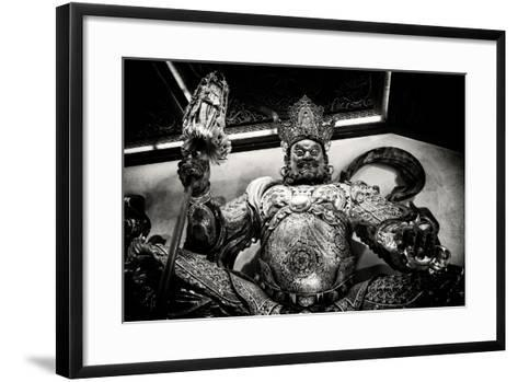 China 10MKm2 Collection - Guardian of the Temple-Philippe Hugonnard-Framed Art Print