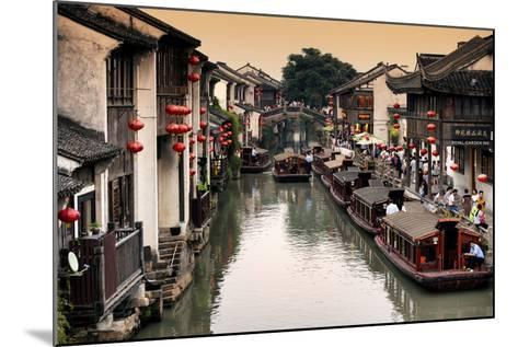 China 10MKm2 Collection - Shantang water Town - Suzhou-Philippe Hugonnard-Mounted Photographic Print