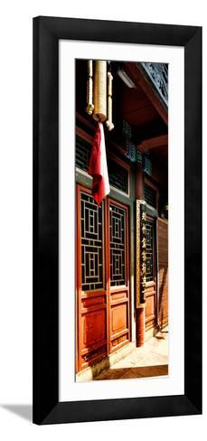 China 10MKm2 Collection - Temple Detail-Philippe Hugonnard-Framed Art Print