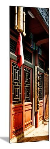China 10MKm2 Collection - Temple Detail-Philippe Hugonnard-Mounted Photographic Print