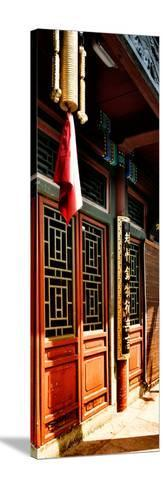 China 10MKm2 Collection - Temple Detail-Philippe Hugonnard-Stretched Canvas Print