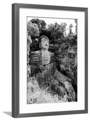 China 10MKm2 Collection - Giant Buddha of Leshan-Philippe Hugonnard-Framed Art Print