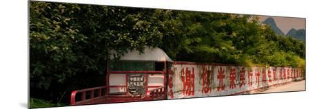 China 10MKm2 Collection - Red Chinese Inscriptions-Philippe Hugonnard-Mounted Photographic Print