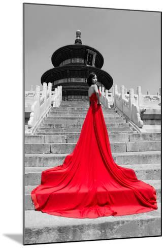 China 10MKm2 Collection - Red Carpet - Temple of Heaven-Philippe Hugonnard-Mounted Photographic Print