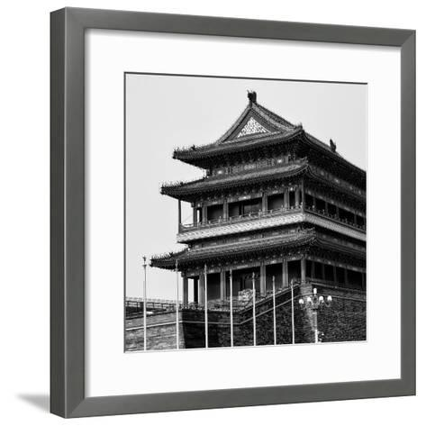 China 10MKm2 Collection - Qianmen Temple-Philippe Hugonnard-Framed Art Print