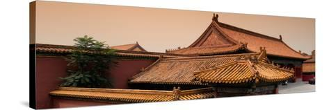 China 10MKm2 Collection - Forbidden City Architecture - Beijing-Philippe Hugonnard-Stretched Canvas Print