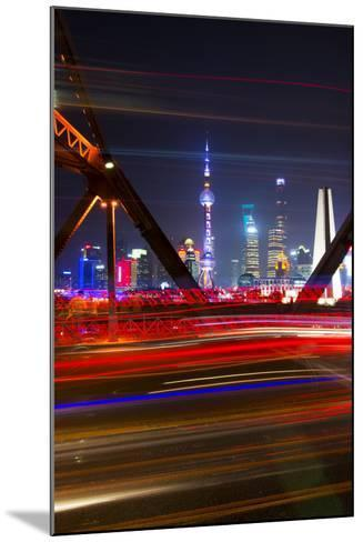China 10MKm2 Collection - Colorful Garden Bridge - Shanghai-Philippe Hugonnard-Mounted Photographic Print