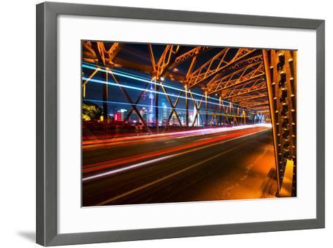 China 10MKm2 Collection - Colorful Garden Bridge - Shanghai-Philippe Hugonnard-Framed Art Print