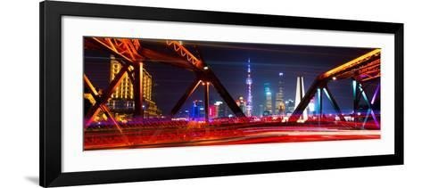 China 10MKm2 Collection - Colorful Garden Bridge - Shanghai-Philippe Hugonnard-Framed Art Print