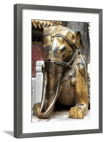 China 10MKm2 Collection - Elephant Buddha-Philippe Hugonnard-Framed Art Print