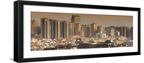 China 10MKm2 Collection - Shanghai Cityscape-Philippe Hugonnard-Framed Art Print
