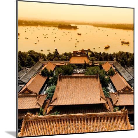 China 10MKm2 Collection - Summer Palace and Lotus Lake-Philippe Hugonnard-Mounted Photographic Print