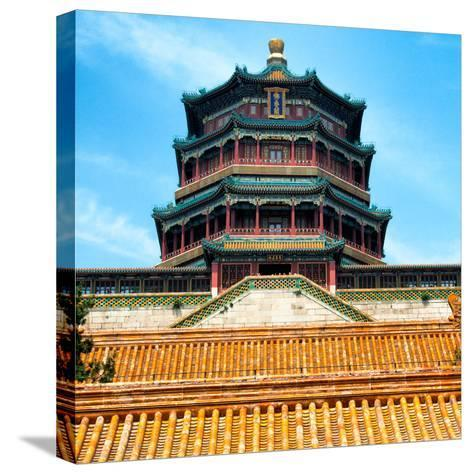 China 10MKm2 Collection - Summer Palace Temple - Beijing-Philippe Hugonnard-Stretched Canvas Print
