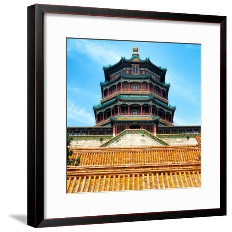 China 10MKm2 Collection - Summer Palace Temple - Beijing-Philippe Hugonnard-Framed Art Print