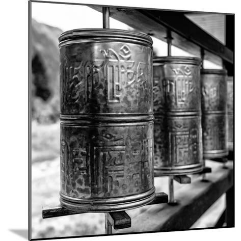 China 10MKm2 Collection - Prayer Wheels-Philippe Hugonnard-Mounted Photographic Print