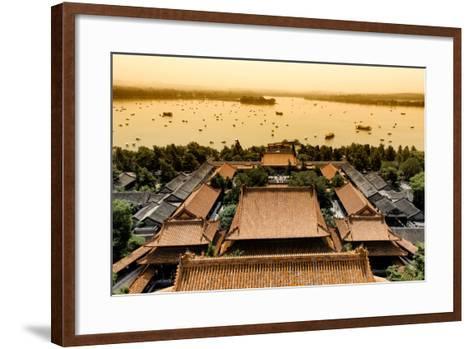 China 10MKm2 Collection - Summer Palace at Sunset-Philippe Hugonnard-Framed Art Print
