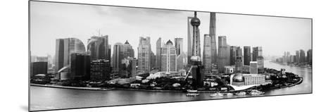China 10MKm2 Collection - Shanghai Skyline with Oriental Pearl Tower-Philippe Hugonnard-Mounted Photographic Print